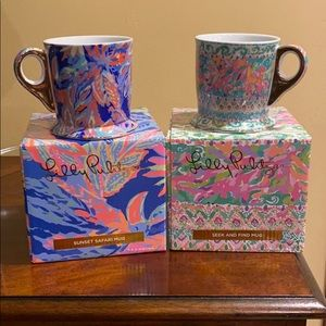 Lilly Pulitzer Ceramic Mugs